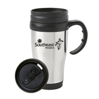 16 oz. Stainless Steel Travel Mug w/ slide lid